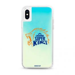 Official Chennai Super Kings Blue Lagoon Neon Sand Glow Case