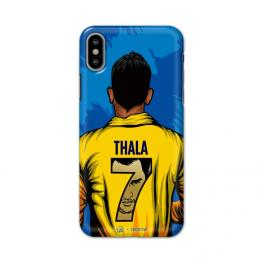 Official Chennai Superkings Thala 3D Case