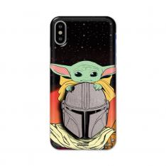 Official Real 3D Star Wars Mandalorian and Yoda Case