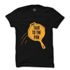 Talk to Pan Black T-Shirt